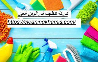شركة تنظيف في الوقن العين