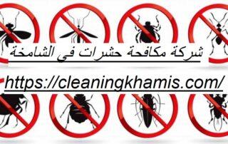 شركة مكافحة حشرات في الشامخة